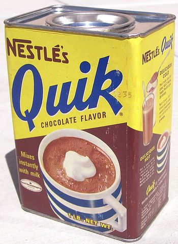 Nestles Quik...in the tin!