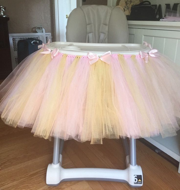Pink and Gold Highchair Tutu, Pink High Chair Tutu, Pink Highchair Tutu, Pink and Gold Birthday, 1st Birthday Tutu, Baby Girl Birthday by OliviasBasket on Etsy https://www.etsy.com/listing/242025619/pink-and-gold-highchair-tutu-pink-high