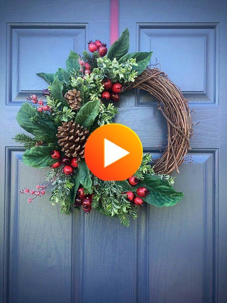Trouvez L Inspiration Pour Realiser Une Couronne De Noel Diy A Installer Dans La Chambre Le Couronne Noel Diy Noel Deco Noel