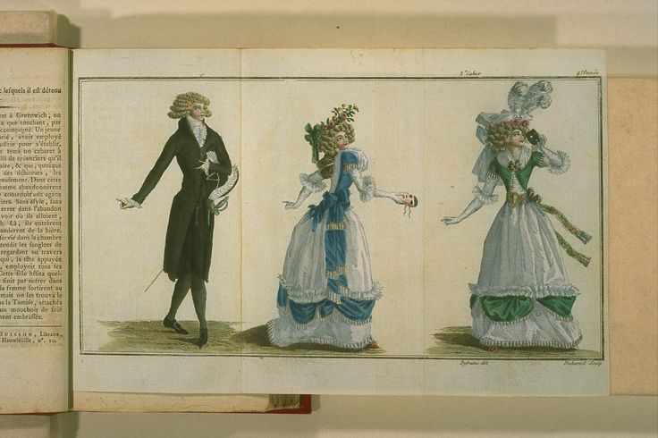 Magasin des modes nouvelles, françaises et anglaises: 11 Janvier 1789