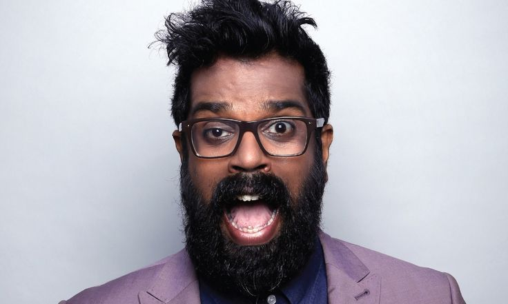 Crawley stand-up Romesh Ranganathan faces a tough crowd at Glasgow International Comedy Festival, but wins them over in his own inimitable fashion.