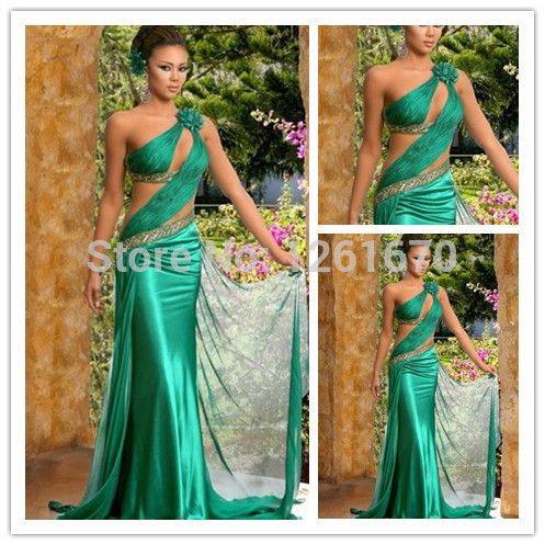 Find More Evening Dresses Information about Green Top End Quality Handmade Emerald Chiffon Beach long  Evening Dresses Bridal Prom Gown 2014,High Quality dress shoes size 16,China gown meaning Suppliers, Cheap gown evening dress from Suzhou SAO tome clothing co., LTD4 on Aliexpress.com