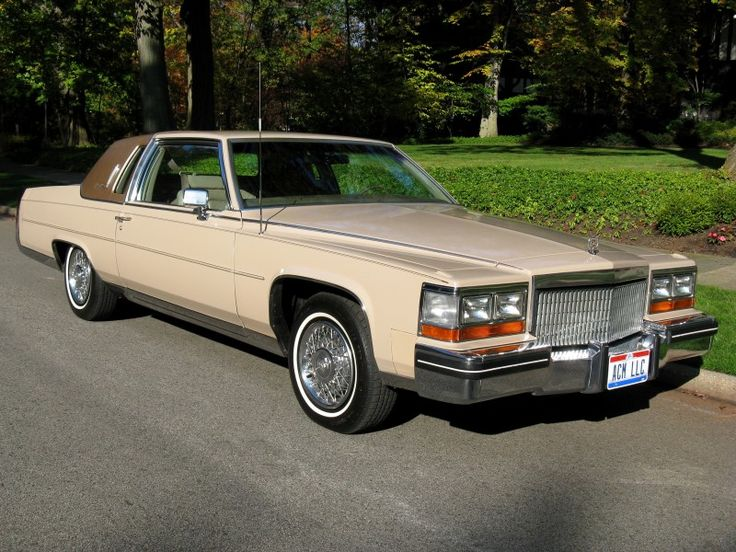 1980 Cadillac Fleetwood Brougham Coupe