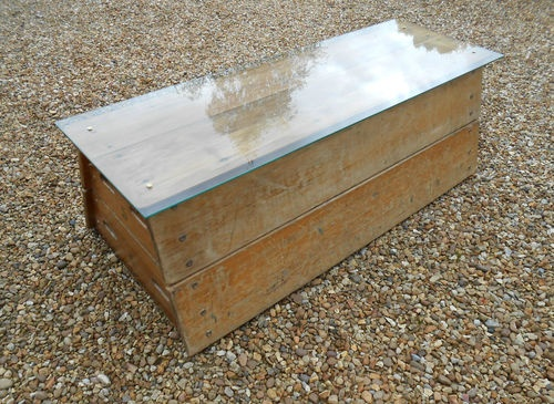 vintage industrial upcycled wooden gym equipment vaulting horse box coffee table | eBay