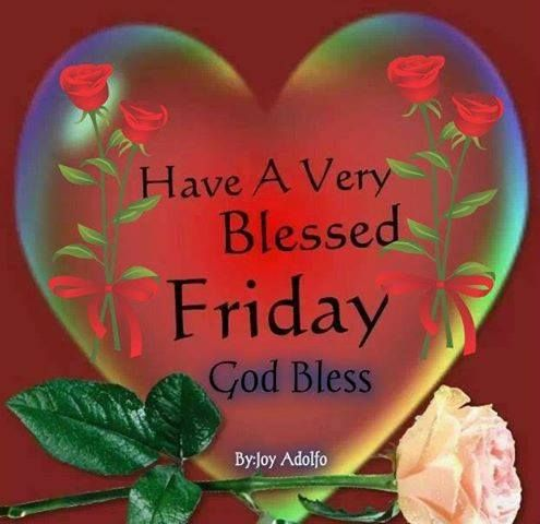 Have a Very Blessed Friday: God Bless - † Blessings Quotes and Sayings †