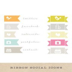 Banner Social Network Icons - these make me want to redesign my blog. errr, to KNOW ENOUGH to do that, even. ;)