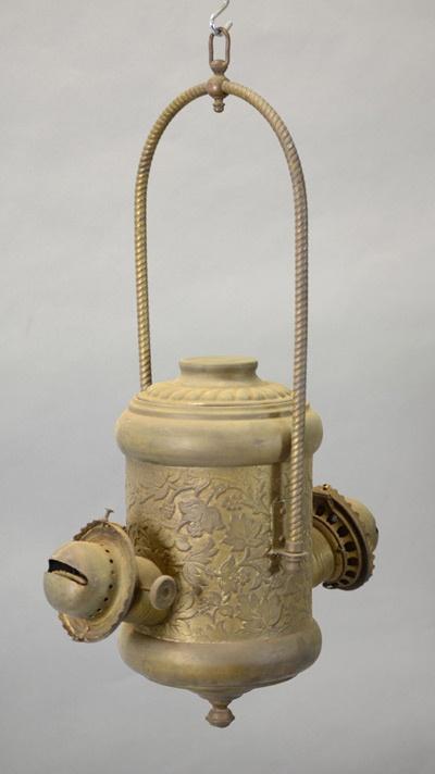 Lampe du magasin Robin c. 1890-1929