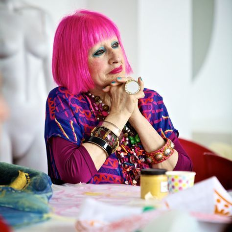 Zandra Rhodes on the Importance of Keeping Sketchbooks