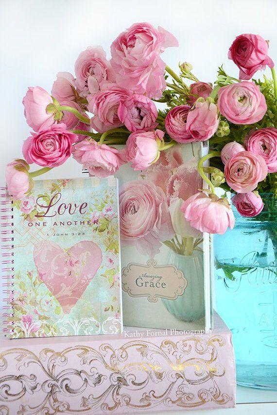 Sensational Romantic Flowers Love Valentine Print Ranunculus Love Interior Design Ideas Lukepblogthenellocom