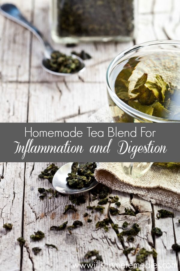 Homemade Tea Blend for Inflammation and Digestion   Jills Home Remedies   Give this nutritious tea blend a try to naturally help your inflammation and digestion!