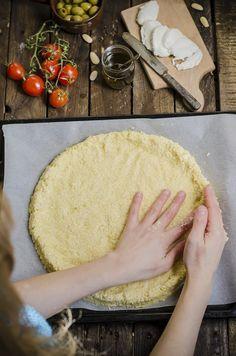 Cauliflower pizza- Pizza di cavolfiore