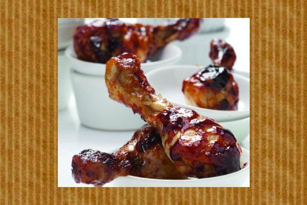Συνταγή για καραμελωμένα μπουτάκια κοτόπουλου!