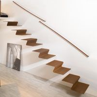 Cantilever staircase   architectural stairs, stairs in steel, staircases in metal