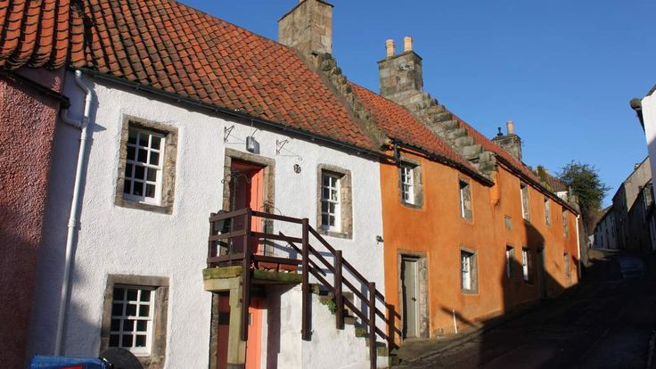 Culross -Used as the Outlander film location for Cranesmuir