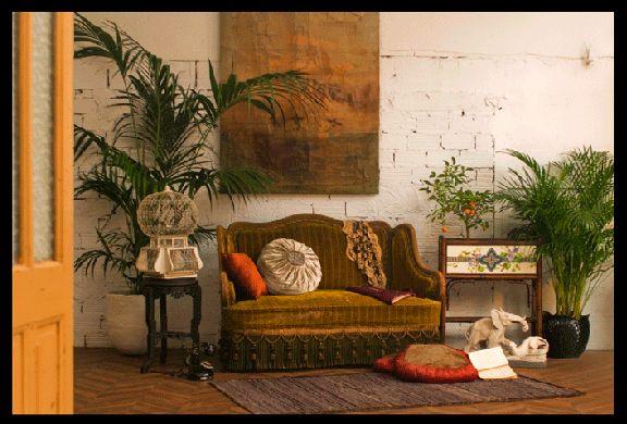 """""""Les matins du monde"""", une décoration rétro réalisée par Arteslonga, maison française de décoration et d'art de vivre."""