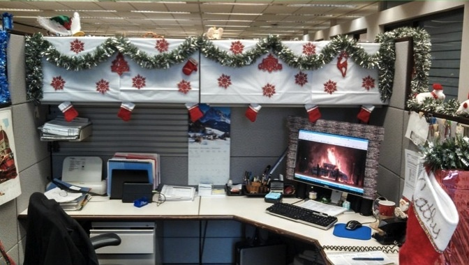 Holiday Cubicle Decorations Holiday Decoration Contest