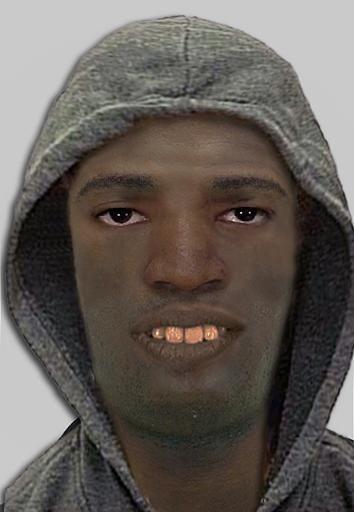 Mit diesem Phantombild sucht die Polizei nach dem Täter