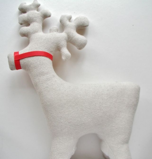 Nordic Scandinavian Reindeer Christmas Decoration £29.99 by Hem on Folksy  #handmade #SmallBizSatUK