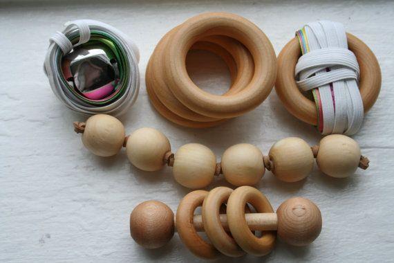 Ensemble-cadeau de Montessori bébé douche