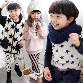 Gmarket - cocoB Kid`s fleece lined leggings / tee / vest / kni...