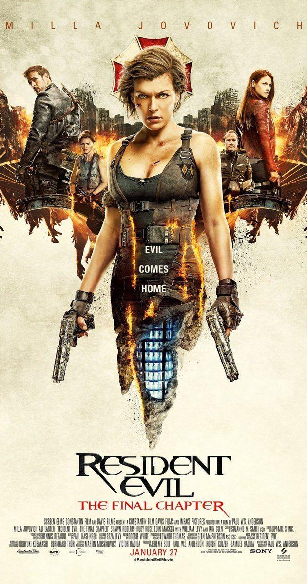 Resident Evil: El capítulo final (Marzo'17) - Puntuación: 6/10