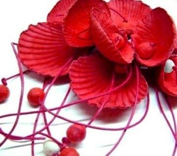 Necklace Lisboa poppy