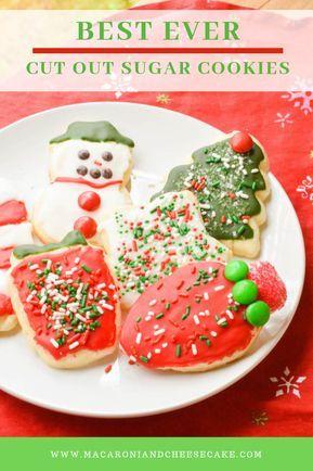 Best Ever Cut Out Sugar Cookies  Icing cookies Cookies, Sugar