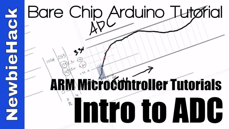 32. How to use the ADC (analog to Digital Conversion) for ARM Microcontrollers Tutorial and Intro