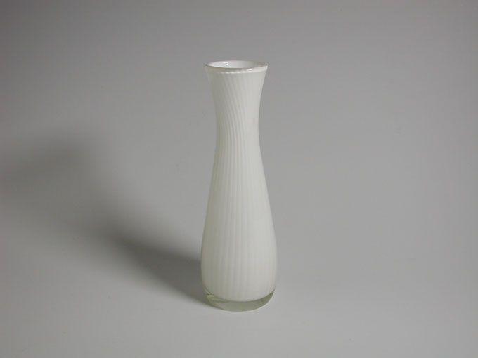 Retro Modern Vase - Hermann Bongard Ariel for Hadeland Glassverk