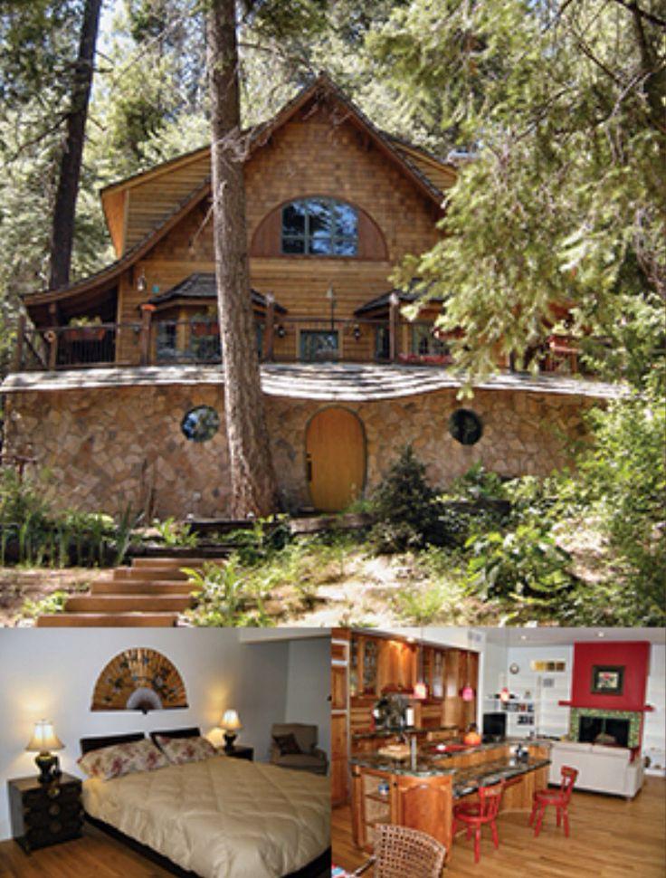 Hobbit House Cabin Rental Mt Lemmon Summerhaven Az
