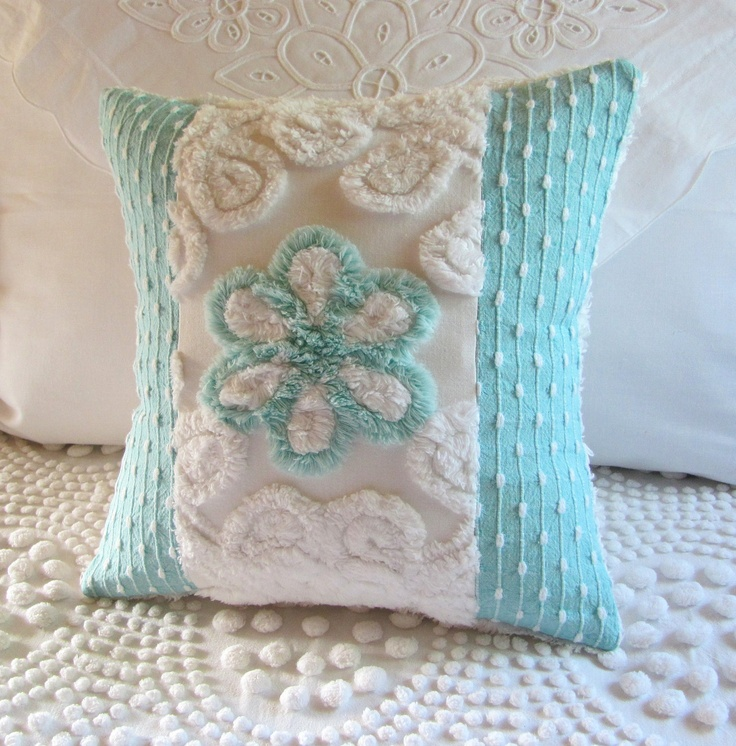 Shabby Chic Chenille Pillows : 8 best images about Shabby Chic Bedroom on Pinterest Window treatments, Quilt and Roses