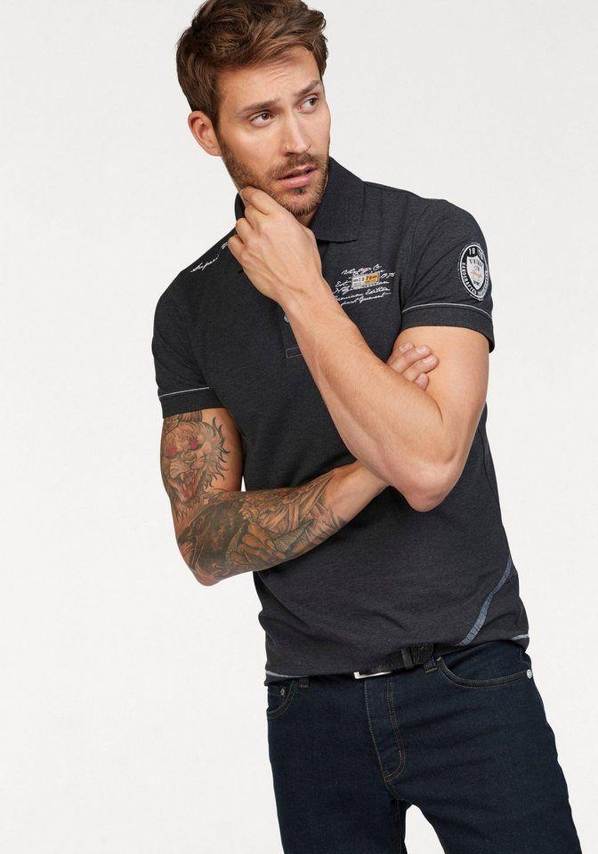 3fb66359a220d9 John Devin Poloshirt mit kurzer Knopfleiste | Produktkatalog Fashion ...