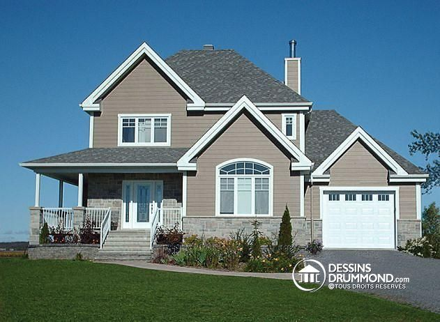 143 best Maison images on Pinterest Ranch home plans, Ranch house