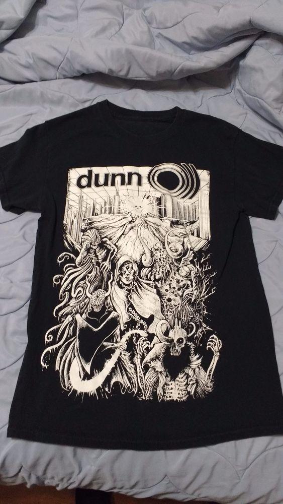 Dunn Effects pedals shirt size S (Sunn O, fuzz, distortion, stoner, doom, metal) #Unbranded #GraphicTee