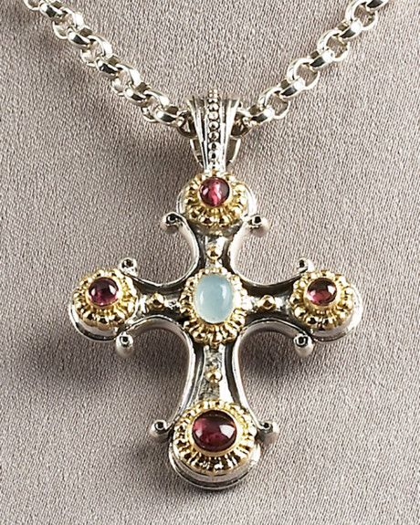 211 best konstantino images on pinterest contemporary jewellery konstantino cross pendant in silver mozeypictures Choice Image