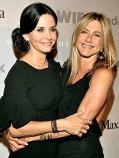 courtney cox. jennifer anniston.