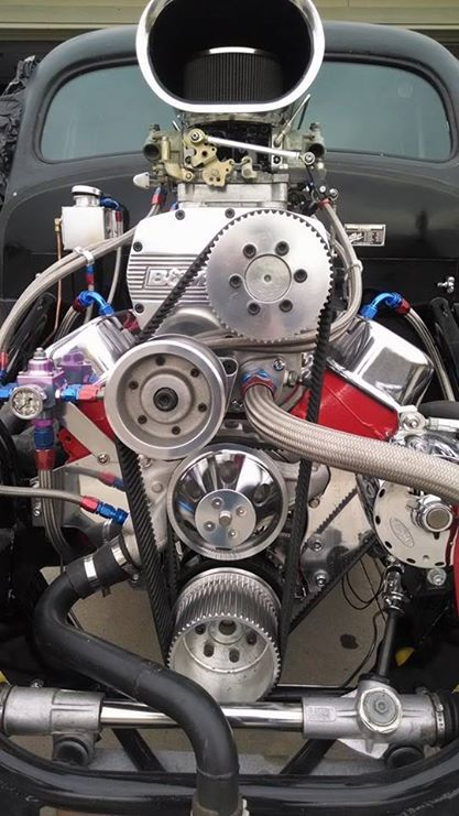 Pro Street 1941 Willys Pickup, Blown 540 cubic inch big block chevy. tube chassis, 4-link