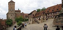 Nuremberg Castle - WikipediaNuremberg Castle (German: Nürnberger Burg) is a group of medieval fortified buildings on a sandstone ridge dominating the historical center of Nuremberg in Bavaria, Germany.