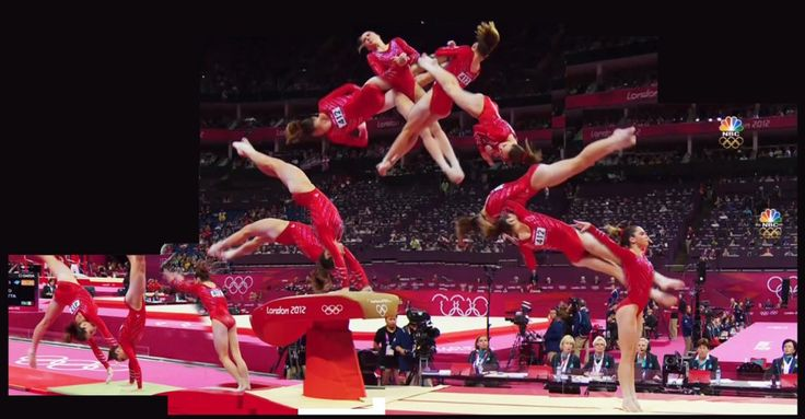 McKayla Maroney's amazing Amanar vault during the team finals during the London 2012 Olympics