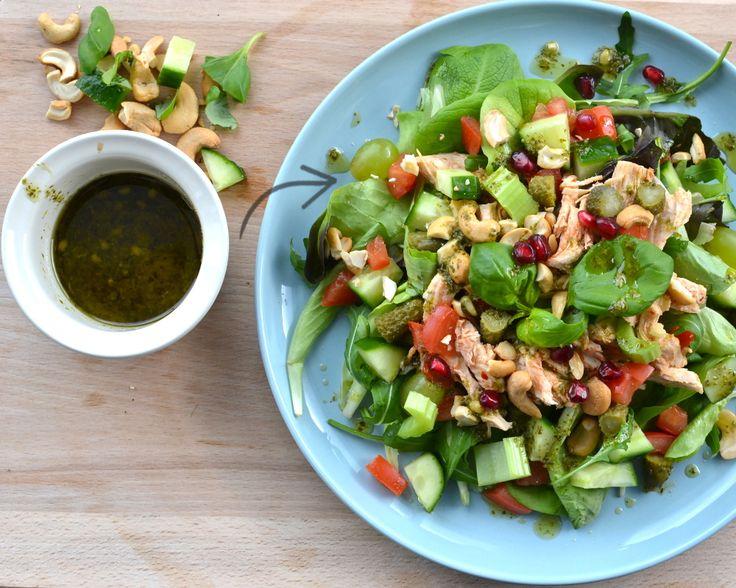 Easy chicken salade