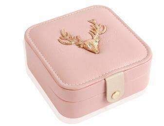 New Mini Creative Jewellery Box Makeup,Casket for Jewellery Travel Case Birthday Gift Ring Earrings Necklace Storage ContainerType: Storage Boxes & BinsBran