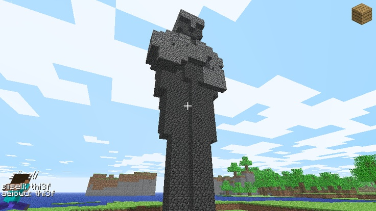 Statue Minecraft Deco Pinterest