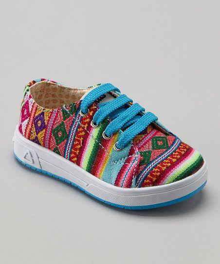 Blue Mist Stripe Sneaker