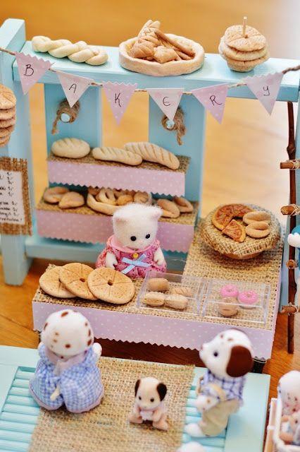 mini bakery/dollhouse bakery