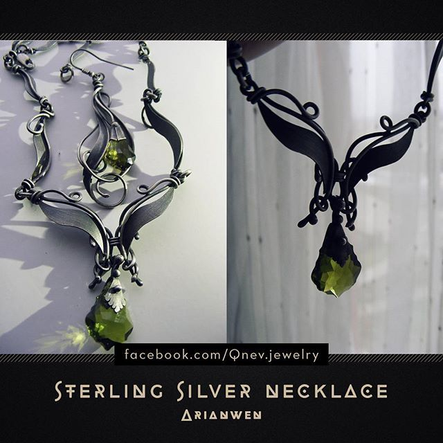 I no longer have ideas for hashtag... :( #necklace #necklaces #jewellery #jewelry #jewelrydesign #jewelrydesigner #silvernecklace #metalwork #artwork #sterlingsilver #period #fantasy #fantasyjewelry #fantasyartist #fantasyart #homemadejewelry #homemade