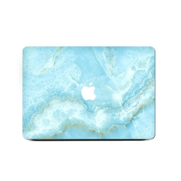 MacBook Air Retina 13 Inch Case – Turquoise Shredded Marble