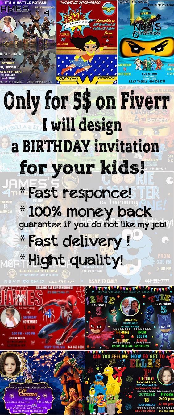 Fast Custom Invitations