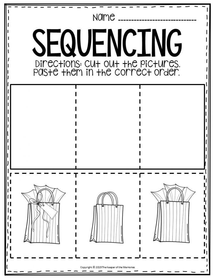 3 Step Sequencing Worksheets Sequencing Worksheets Teachers Pay Teachers Free Downloads Worksheets Preschool worksheets teachers pay