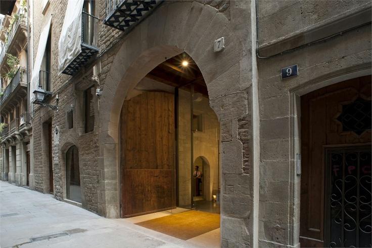 mercer hotel   barcelona, spain   by rafael moneo architect.
