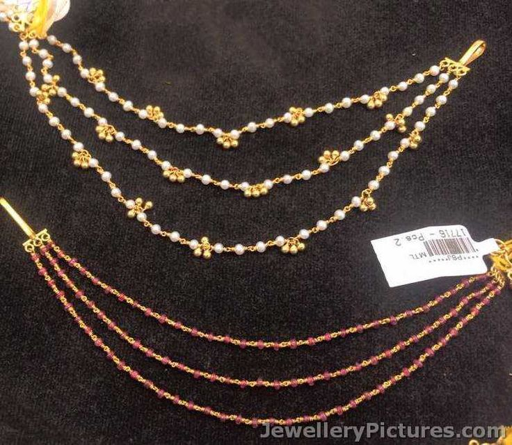 champaswaralu latest designs in gold